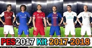 ultigamerz: PES 2017 Kits-Pack Season 2017-18 Vol.1