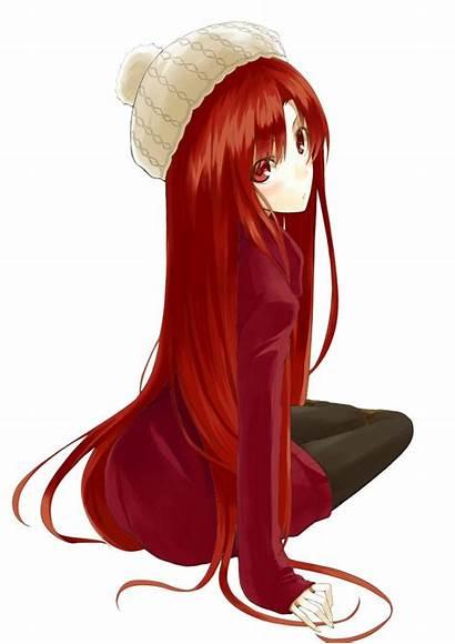Hair Head Waitress Anime Eyes Haired Dark