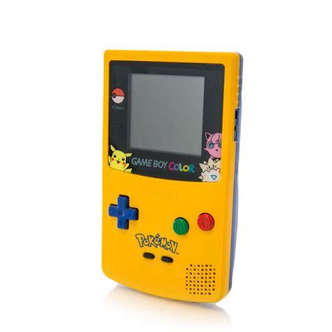 Nintendo Game Boy Color Pokemon Yellow Gamestop Premium