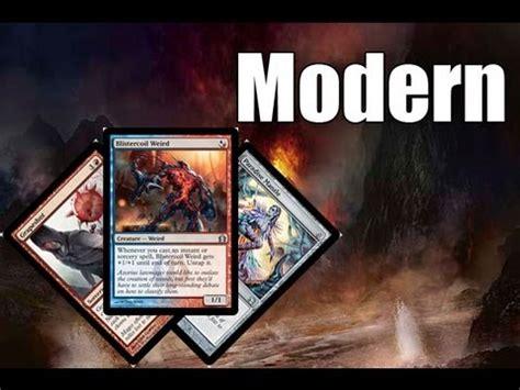 mtg modern deck tech paradise cantrips youtube