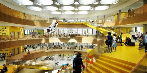 c f møller reveals designs for lego headquarters in