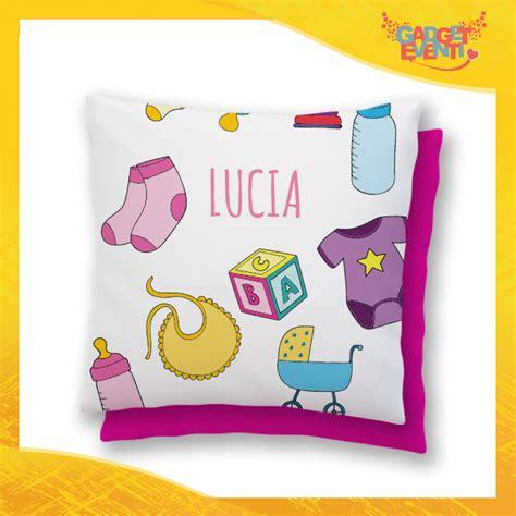 cuscino bambini cuscino bambino baby con nome personalizzabile quot infanzia