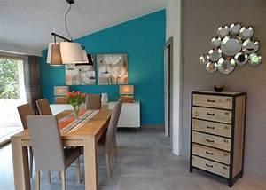 Deco bleu canard collection avec chambre deco salon bleu for Deco cuisine avec salon et salle a manger design