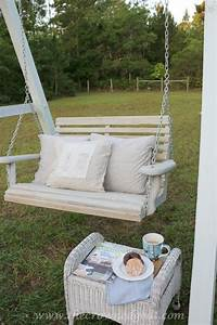 Building A Porch Swing Frame