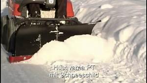 Aufsitzrasenmäher Mit Schneeschild : husqvarna pt 26 d mit hochgrasm hwerk schneeschild kehrmaschine tranportschaufel youtube ~ Eleganceandgraceweddings.com Haus und Dekorationen