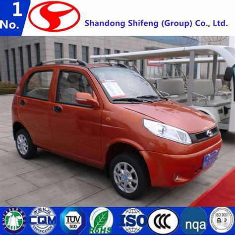 4 Door Electric Car by China 4 Wheel 4 Door 5 Person Factory Price Small Electric