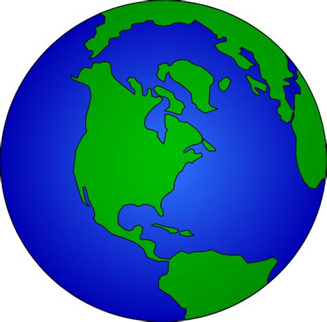 earth cartoon clip art  clkercom vector clip art