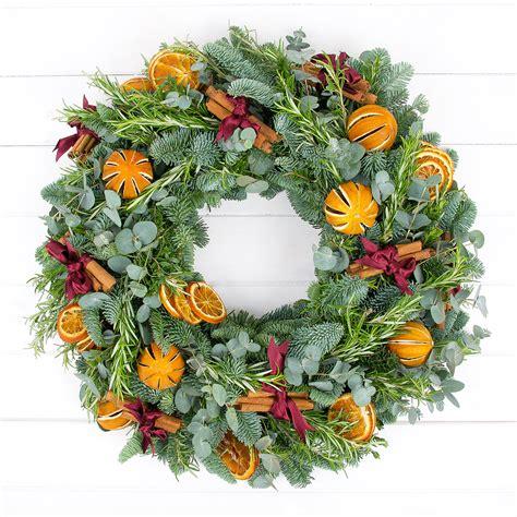 traditional christmas wreath christmas
