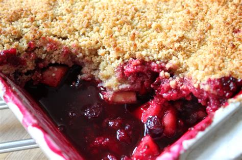 Image result for apple and blackberry crumble