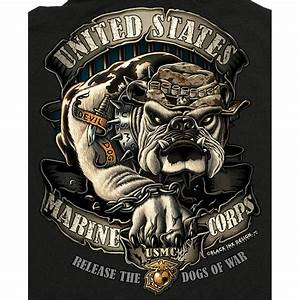 Release the Dogs of War Black Hoodie