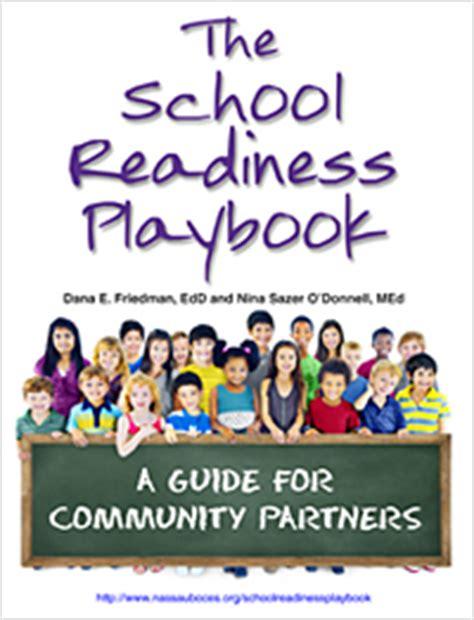 long island prek initiative school readiness playbook