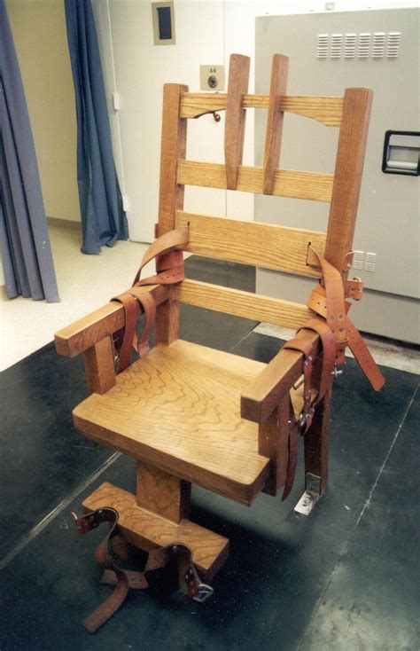 execution chaise electrique executedtoday com 1999 allen tiny davis the end