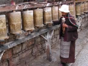 Sterling Silver Tibetan Prayer Wheel Earrings Khmer Collection KC15ES