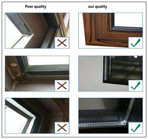 high quality upvc windows  grill small size fixed windows bathroom window glass factory