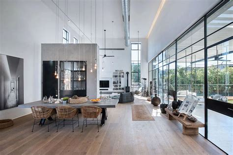 L Shaped Kitchen Island Ideas - belle maison contemporaine au design minimaliste industriel en israël vivons maison
