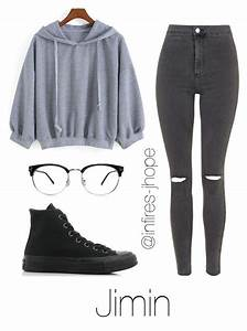 Grey Outfit with Jimin | Kahlia | Pinterest | Grey outfit Jhope and Jimin