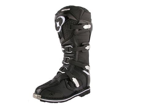 no fear motocross boots no fear trophee mx boots black the honda shop