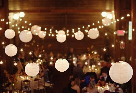 large white paper lantern string lights realrun home