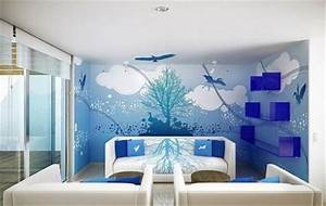 Decorative wall painting techniques home furniture for Decorative interior house painting
