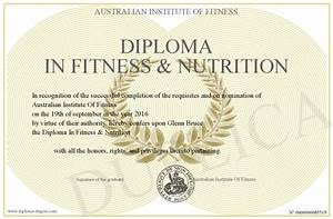 Masters Degrees In Fitness And Nutrition