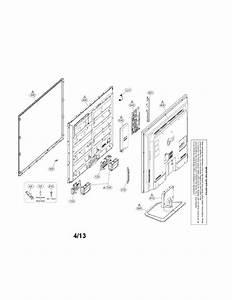 Lg Model 47ln5400uaausyljr Lcd Television Genuine Parts