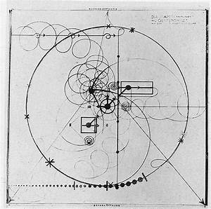 Diagram By Oskar Schlemmer During The Bauhaus For Gesture