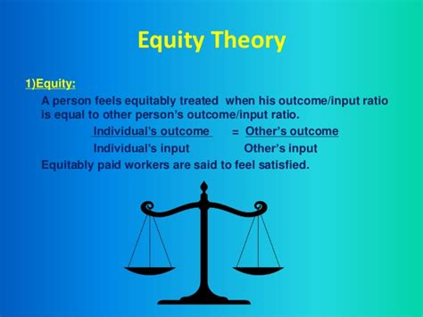 equity theory  motivation