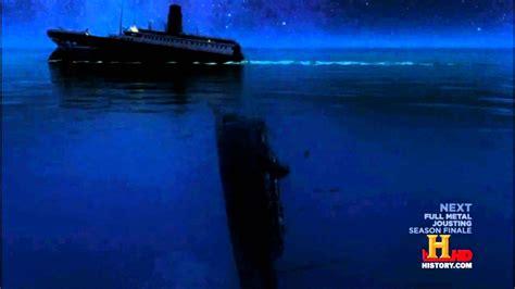 Titanic Sinking Simulation by Titanic 2013 Sinking Theory History Channel Simulation