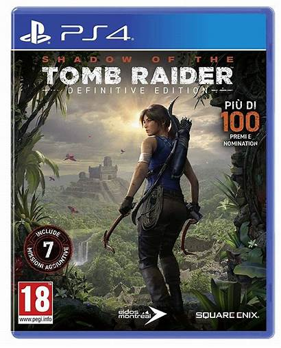 Tomb Raider Definitive Edition Gioco Ps4 Italiano