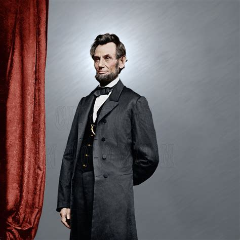 abraham lincoln in color president abraham lincoln color tinted photo civil war