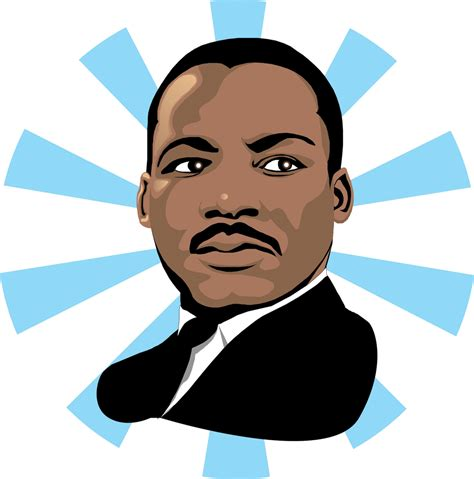 Image result for clip art free amrtin luther king