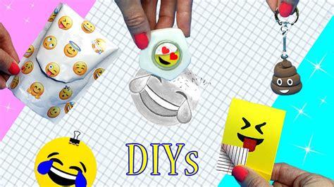 diy school supplies  emoji diys miniature backpack