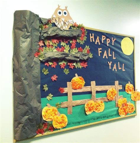 happy fall y all fall preschool bulletinboard 795 | 5c5f7af25c1b98c23541ac5b24694504