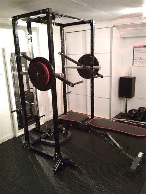 simple diy rack lever arms homegym