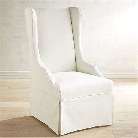 slipcover dining chair slipcovered chairs
