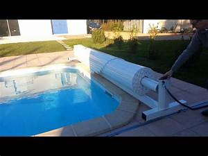 volet securite piscine roldo totemobile hors sol by With piscine hors sol interieur