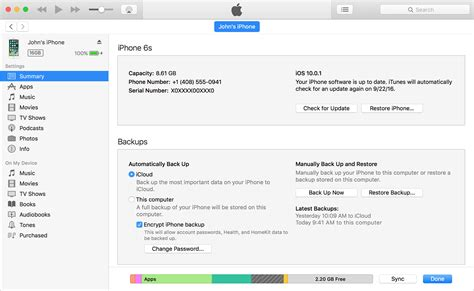 where is backup on iphone restore your iphone or ipod touch from a backup