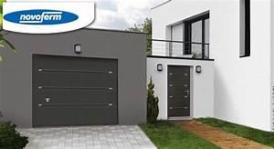 Porte de garage sectionnelle jumele avec serrure tordjman for Porte de garage enroulable jumelé avec reelax tordjman