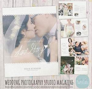 22 page wedding photography magazine template pg009 for Wedding photography magazine template