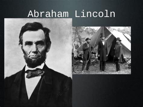 civil war unit lesson  civil war leaders power point
