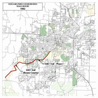 Trail Columbia Mo History Trails Development Como