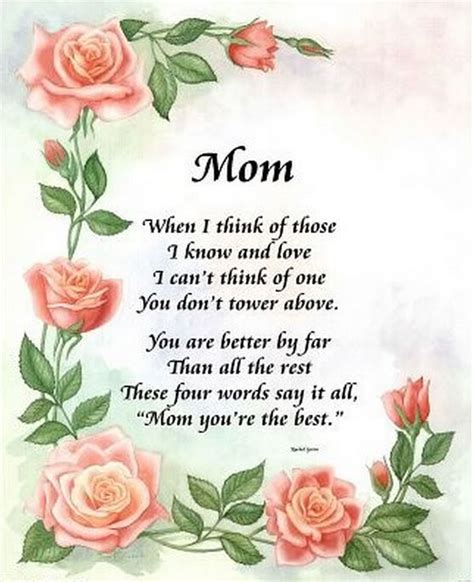 mothers day poem mother s day poems in graphics let s celebrate