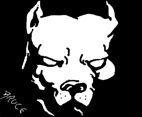 pit bull desenho de bruxce gartic