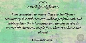 Leonard Boswell... Leonard Community Quotes