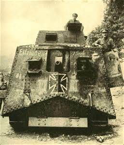 German WW1 Tank