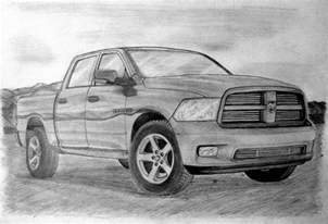 Dodge Ram Truck Drawings