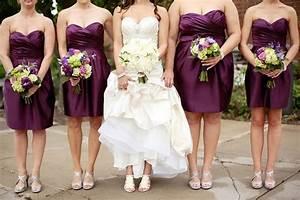 Bold Plum meets Simplistic Elegance Wedding - Belle The ...