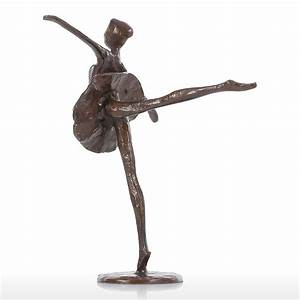 Skulpturen Modern Art : best and cheap bronze ballet bronze sculpture metal ~ Michelbontemps.com Haus und Dekorationen
