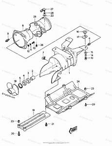 Kawasaki Jet Ski 1988 Oem Parts Diagram For Jet Pump