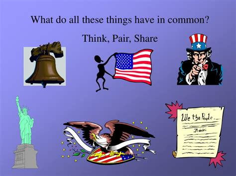 What Do All These Things Have In Common? Think, Pair